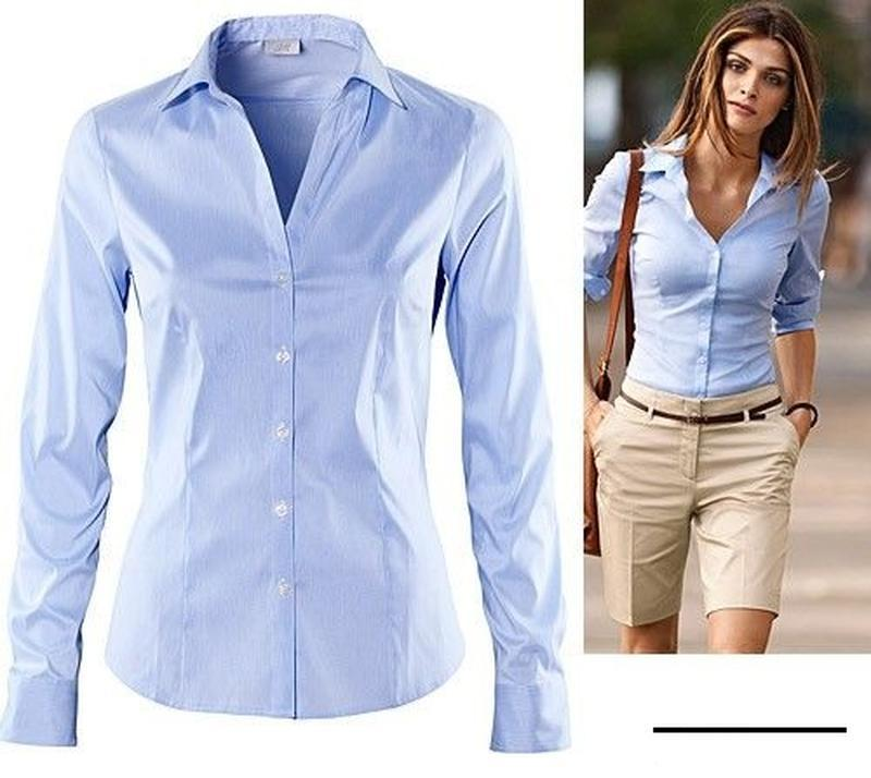 Рубашка ,деловой стиль из натуральной ткани