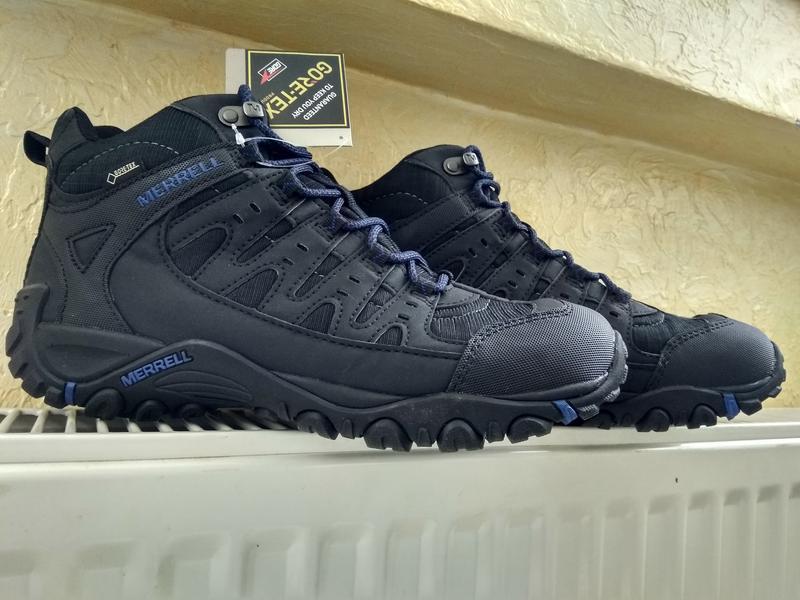 Зимние водонепроницаемые ботинки кроссовки merrell accentor sp... - Фото 2