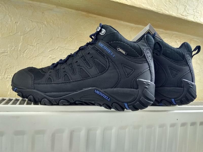 Зимние водонепроницаемые ботинки кроссовки merrell accentor sp... - Фото 3