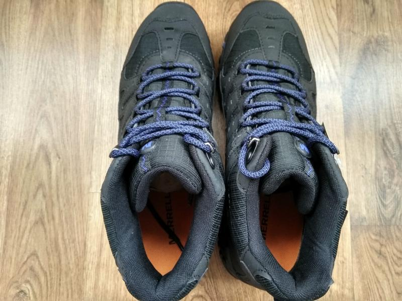 Зимние водонепроницаемые ботинки кроссовки merrell accentor sp... - Фото 6