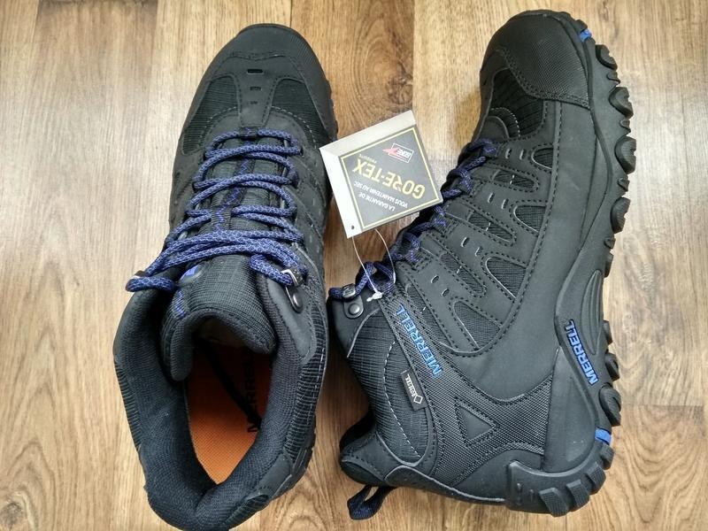 Зимние водонепроницаемые ботинки кроссовки merrell accentor sp... - Фото 7