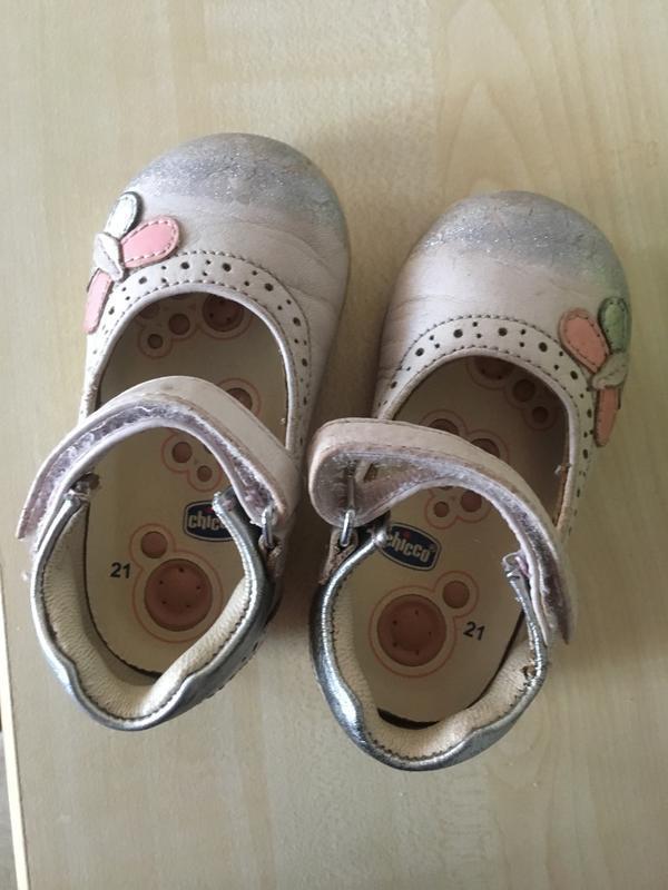 Туфельки chicco 21 размер !