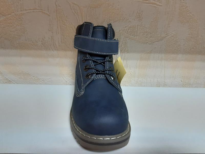 Демисезонны ботинки на мальчика 31-35 р, утепленные - Фото 2