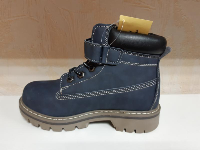 Демисезонны ботинки на мальчика 31-35 р, утепленные - Фото 3