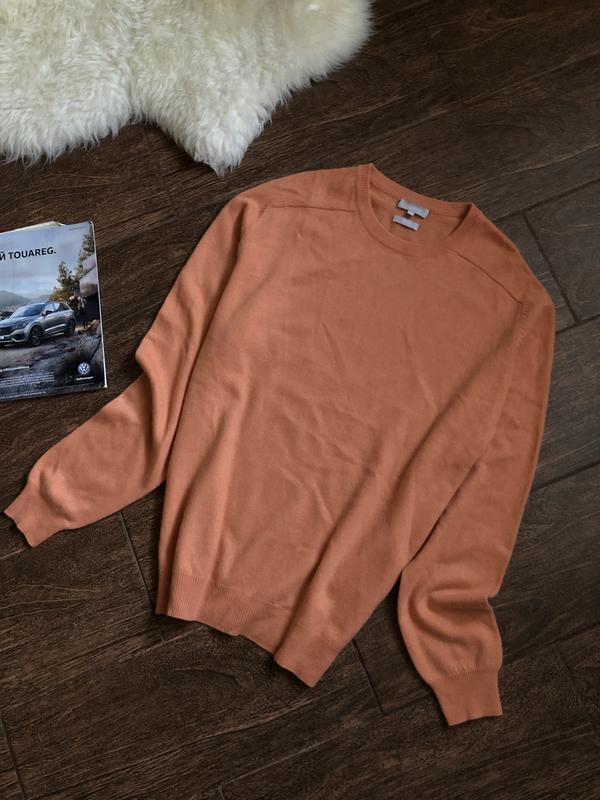 Очень красивый кашемировый теплый свитер