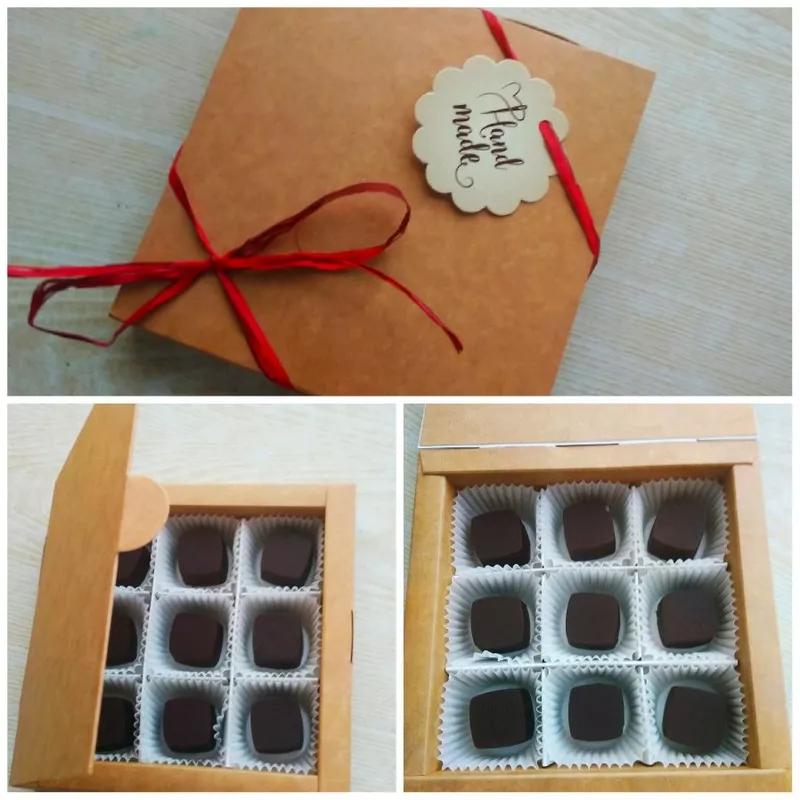 Натуральний шоколад та шоколадні цукерки ручної роботи - Фото 2