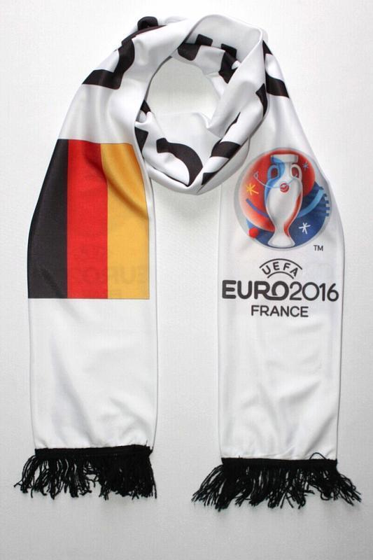 Коллекционный шарфик euro 2016, германия.