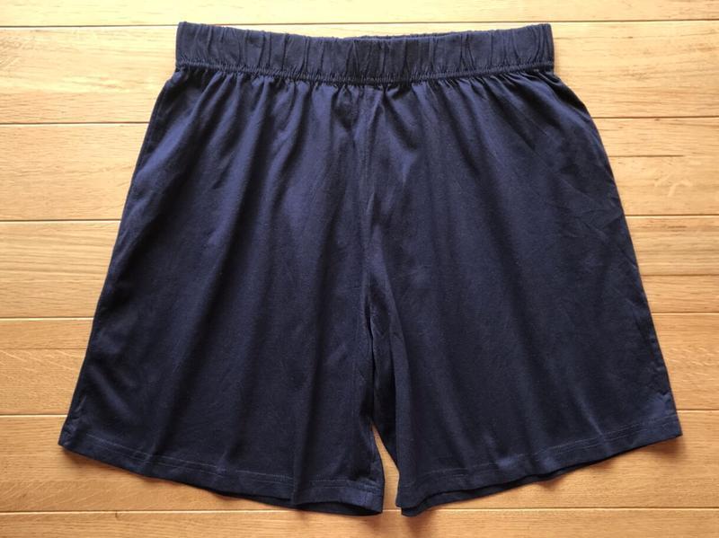 Домашние мужские трикотажные шорты для сна и отдыха, george, s.