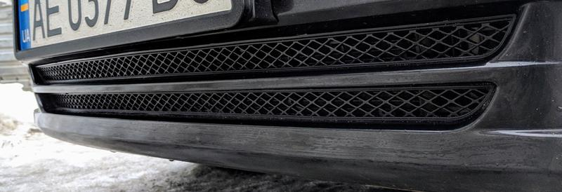 Решетка в бампер Chevrolet Lacetti / Шевроле Лачетти (раздельная)