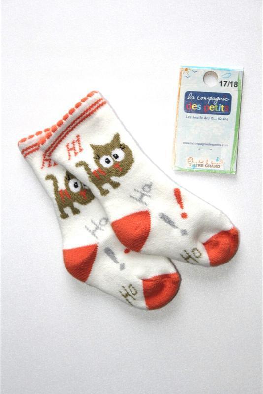 Детские коттоновые носочки на махре, премиум качество, франция...