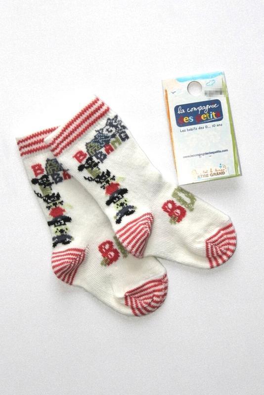 Детские коттоновые носочки, премиум качество, франция. 1-3.