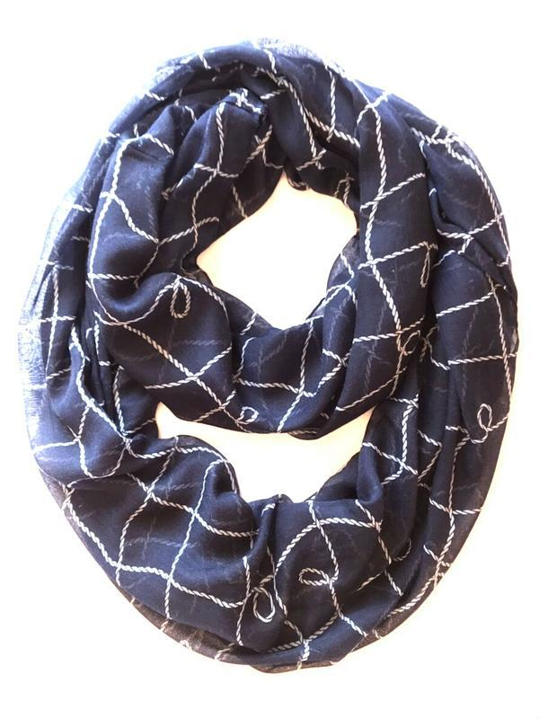 Легкий стильный шарф хомут, снуд, c&a