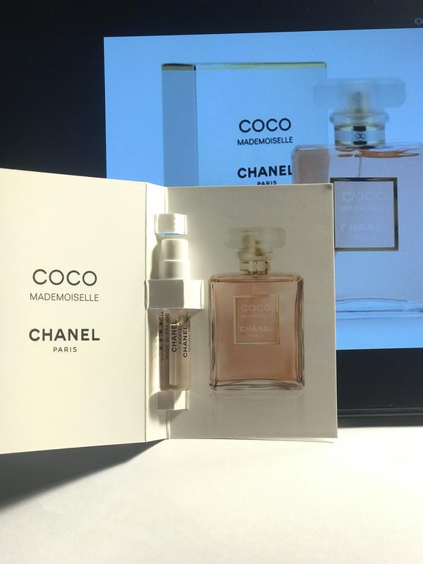Chanel coco mademoiselle, edp, пробник, 1,5 мл, оригинал. - Фото 2
