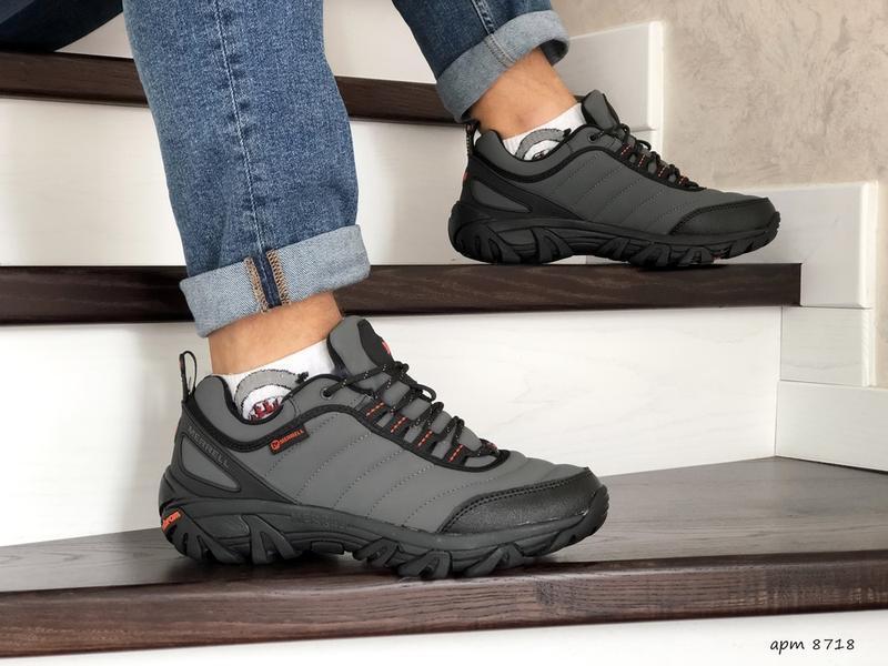 Мужские зимние ботинки кроссовки термо