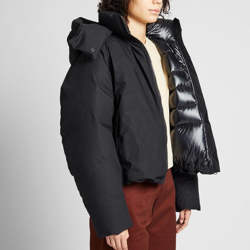 Женская короткая куртка пуховик парка дутик uniqlo u lifewear