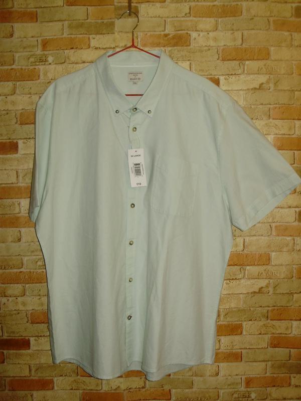 Новая хлопковая рубашка размера xxl