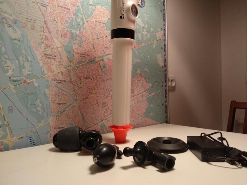 Устройство для прочистки труб пневмо вантуз - Фото 3
