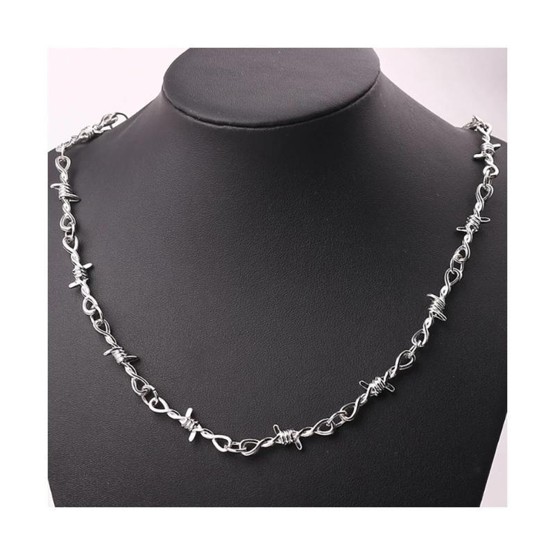 Ожерелье украшение колючая проволока терновый венок колючки по...
