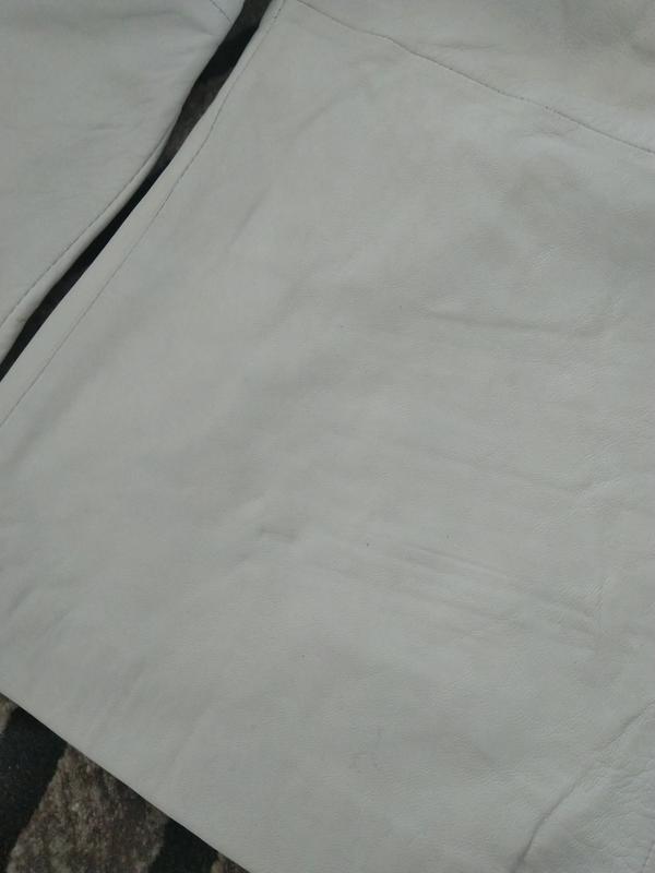 Новая кожаная куртка косуха pepe jeans london 100% кожа нюанс ... - Фото 5