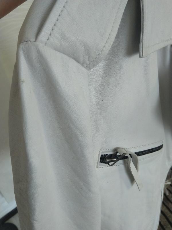 Новая кожаная куртка косуха pepe jeans london 100% кожа нюанс ... - Фото 6
