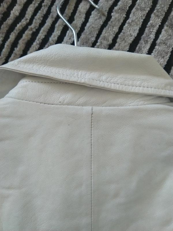Новая кожаная куртка косуха pepe jeans london 100% кожа нюанс ... - Фото 7