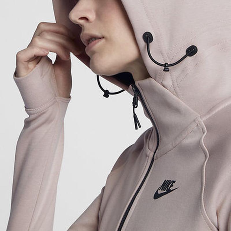 Новое худи nike tech pack премиум линия розовая пудра кофта 10... - Фото 5