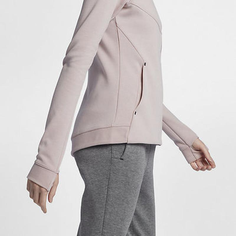 Новое худи nike tech pack премиум линия розовая пудра кофта 10... - Фото 8