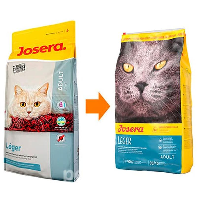 Сухой корм  для кошек  Josera Leger, 10 кг (Йозера Легер)