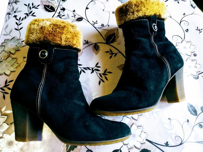 Супер ботинки зимние