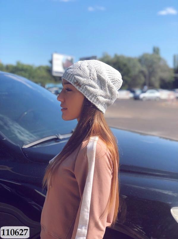 Крутая шапка на флисе*50%шерсти*