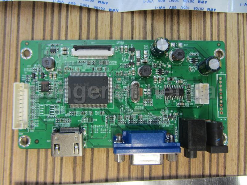 Универсальный скалер RQ8 HDMI VGA для EDP матриц - Фото 2