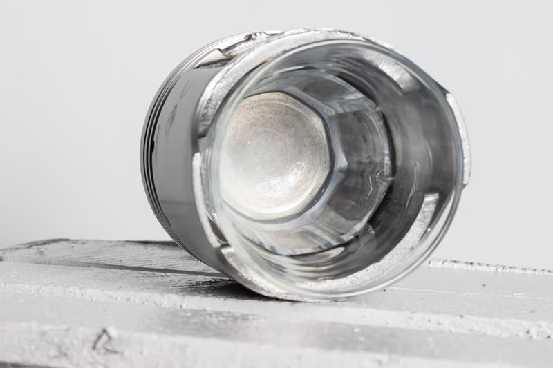 Стакан с подстаканником из автомобильного поршня, стакан для виск - Фото 3