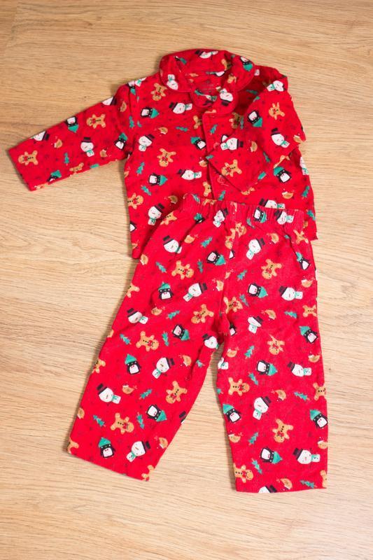 Байковая пижамка на 6-12 мес early days
