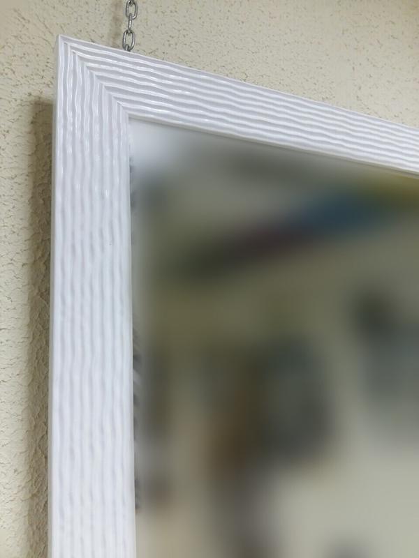 Зеркало в белой раме - Фото 3