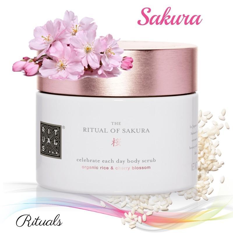 Скраб для тела. Rituals of Sakura body scrub. 375g