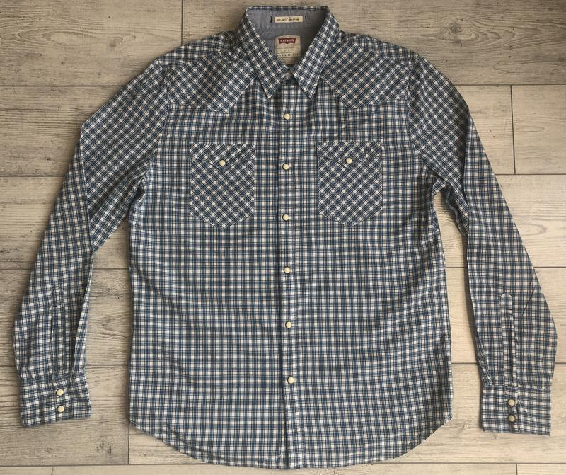 Сорочка\рубашка levis slim fit western shirt