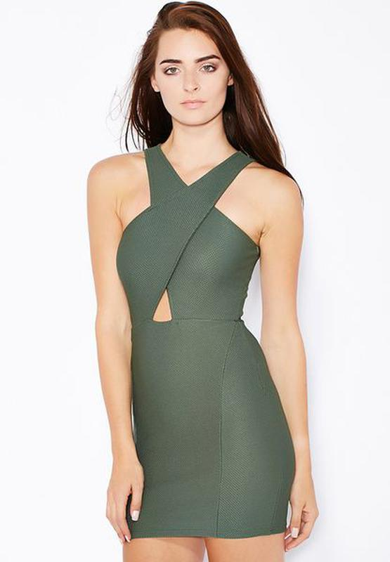 Фактурное платье miss selfridge