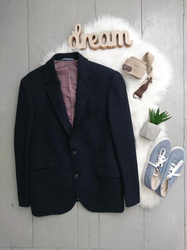 Актуальный стильный шерстяной пиджак №2max