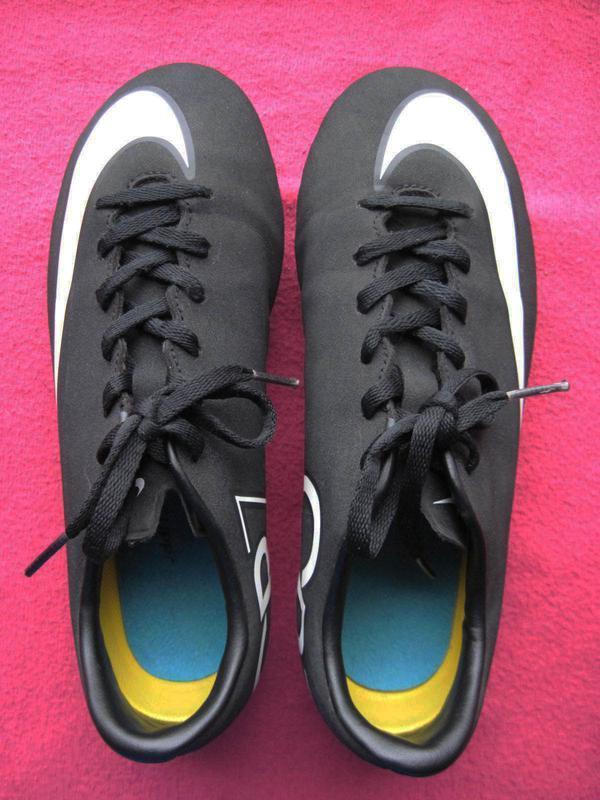 Nike mercurial cr7 (36, 23 см) бутсы детские - Фото 3