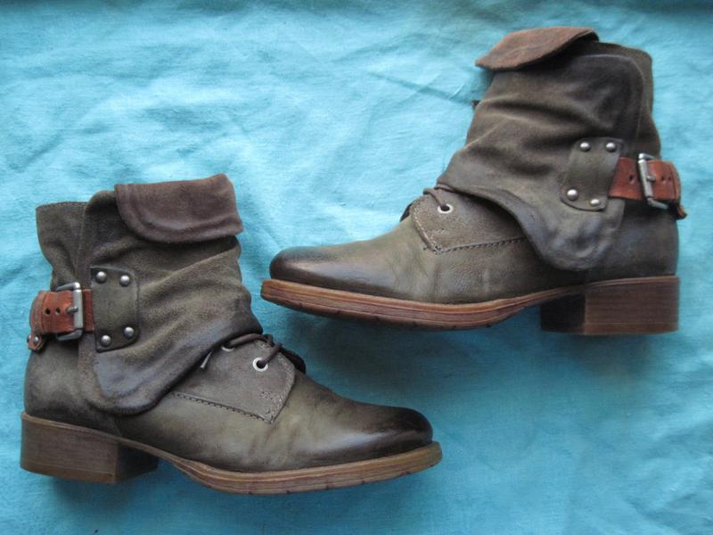 Sammerkind (39) кожаные ботинки женские деми, теплая зима