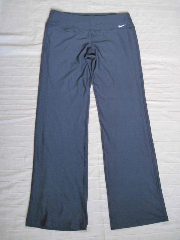 Nike dri-fit (l) спортивные штаны женские