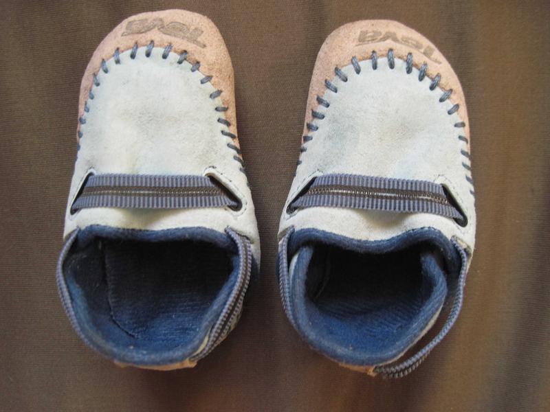 Teva logan (размер 18-20) кожаные топики для малыша со сменой ...