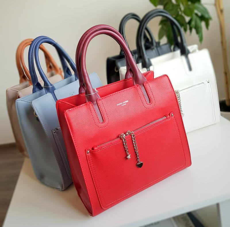 Женская сумка David Jones - Фото 4