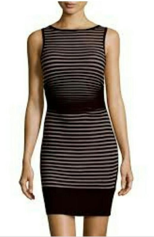 Дизайнерское бандажное платье силуэт от carmen marc valvo