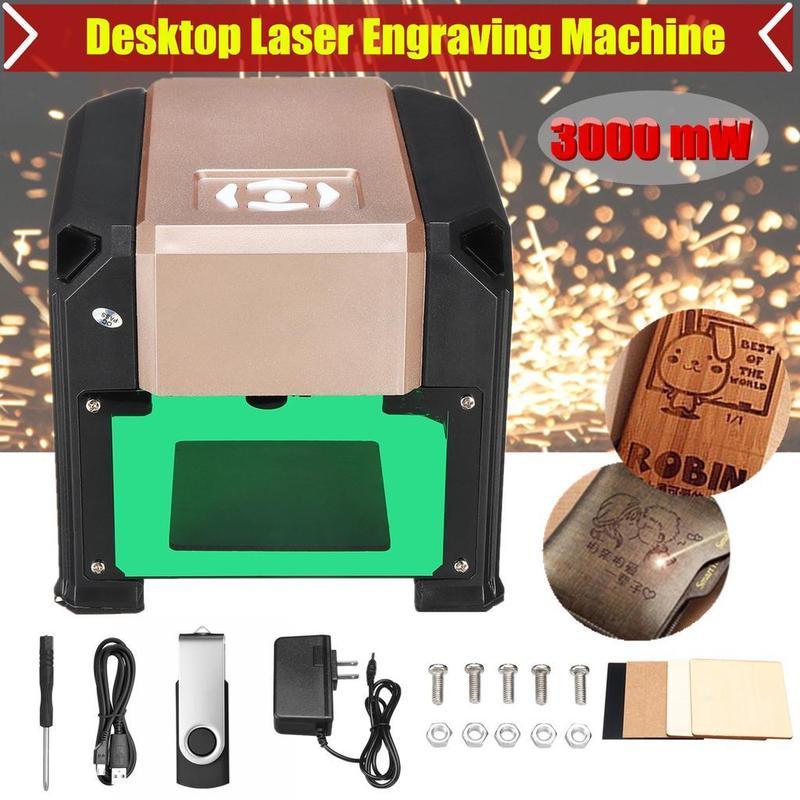 Лазерный гравер 3000mw 80x80mm