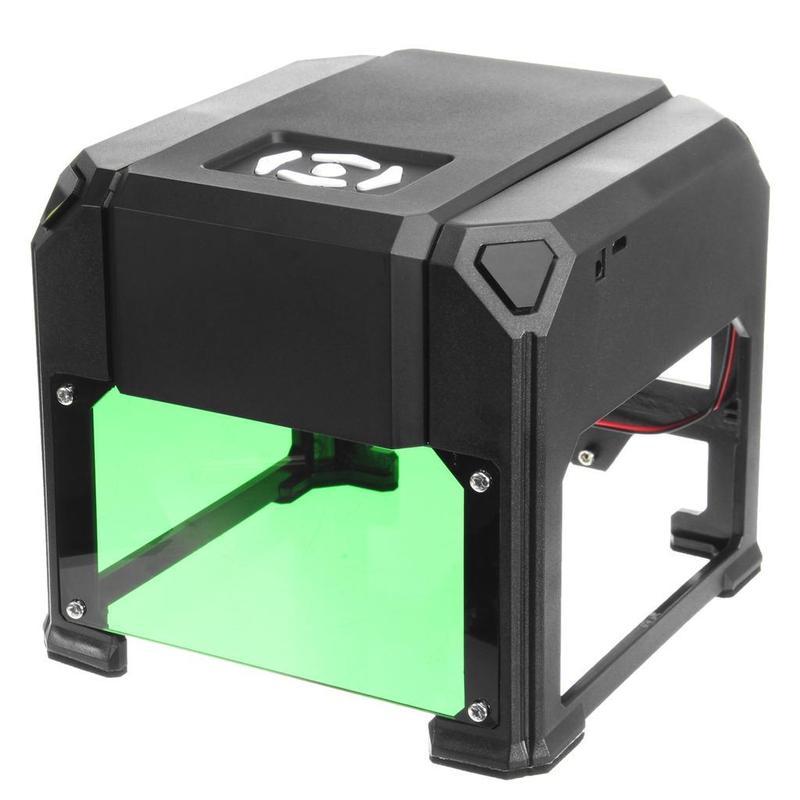 Лазерный гравер 3000mw 80x80mm - Фото 3