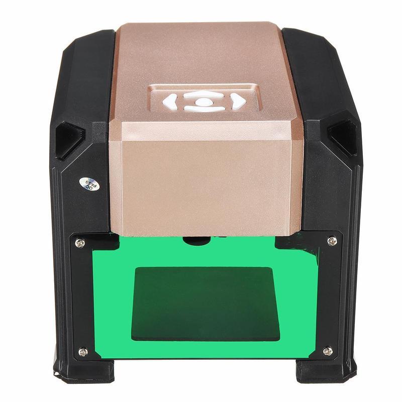 Лазерный гравер 3000mw 80x80mm - Фото 4