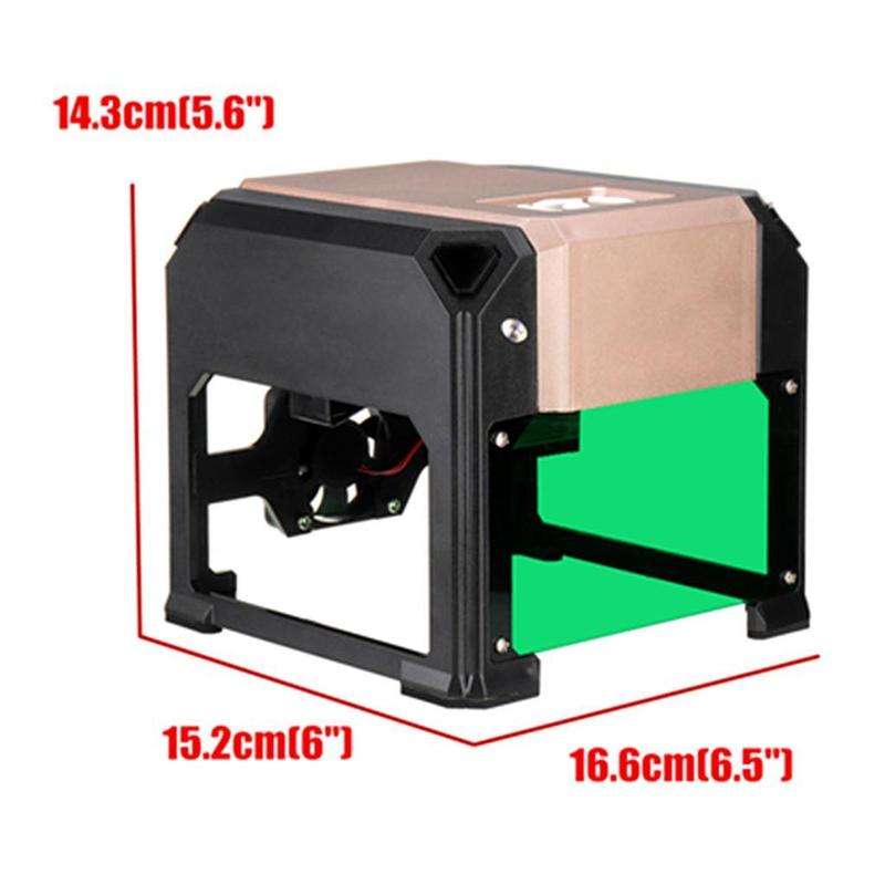 Лазерный гравер 3000mw 80x80mm - Фото 5