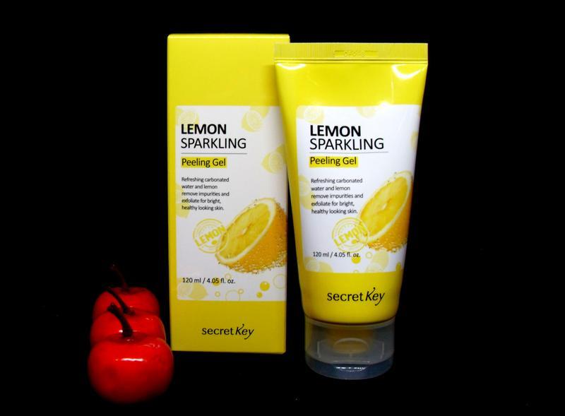 Пилинг скатка Secret Key Lemon Sparkling Peeling Gel ,Корея