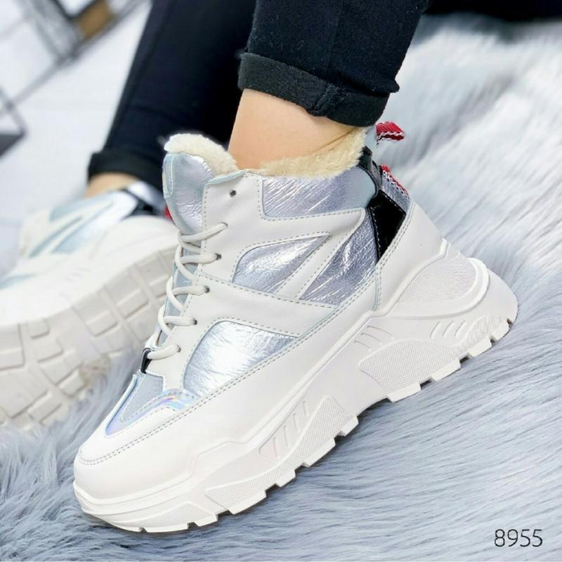 Зимние спортивные ботинки зима женские кросівки кроссовки